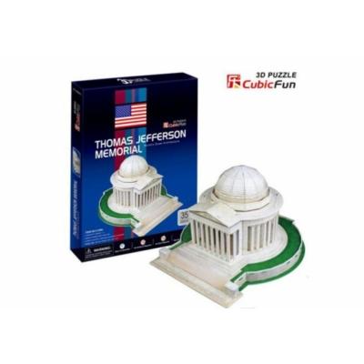 3D puzzle - Jefferson Memorial 35 db-os