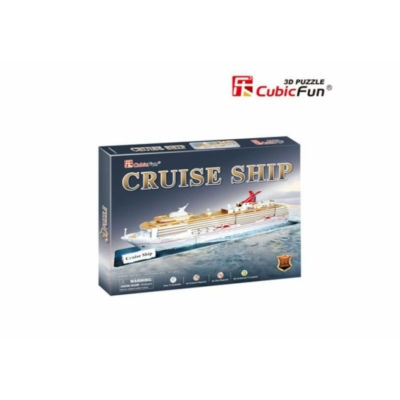 3D puzzle - Cruise ship 86 db-os