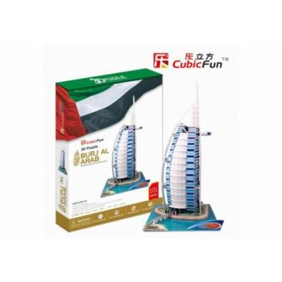 3D puzzle Burjal-Arab 101 db-os
