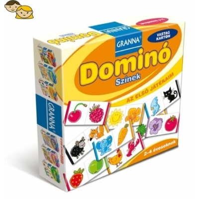 Az első játékaim Domino – Színek