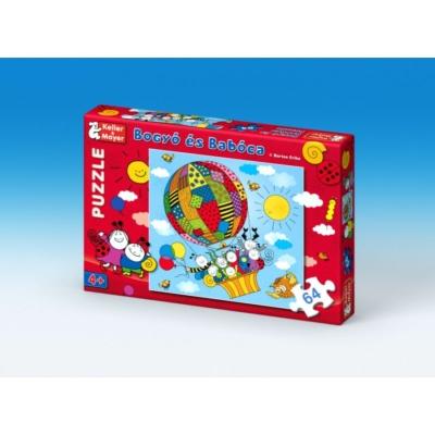 Bogyó és Babóca 64 db-os puzzle Léghajó