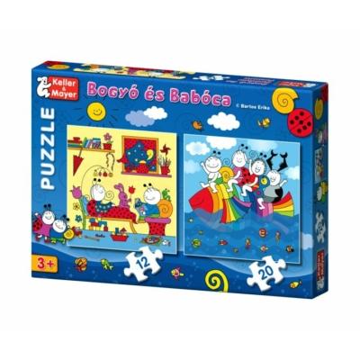 Bogyó és Babóca Puzzle Szivárványhal