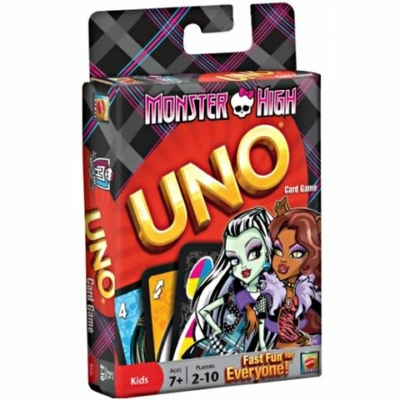Uno kártya Monster High