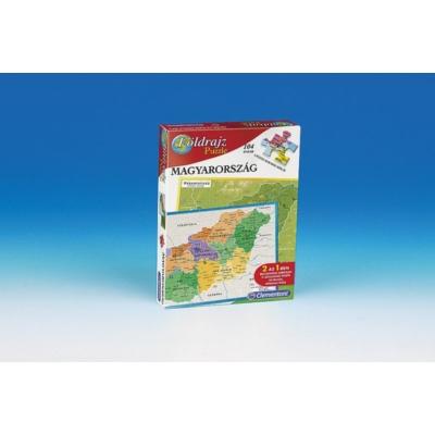 Geo puzzle Magyarország - Clementoni