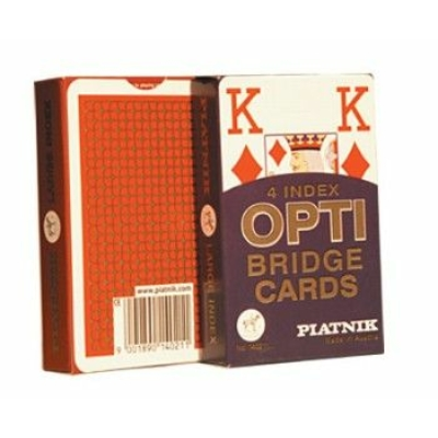 Opti bridzs kártya, 55 lapos - 140211