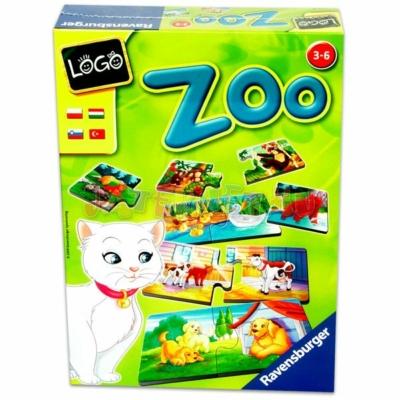 Ravensburger Logo Zoo: állatok és kölykeik