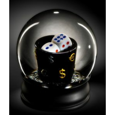 Various Puzzle Snowglobe Poker Cup 734648