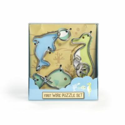 First Wire Puzzle Szett – Vízi állatok