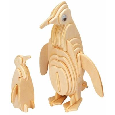 Gepetto's Workshop - Pingvin - 3D fapuzzle
