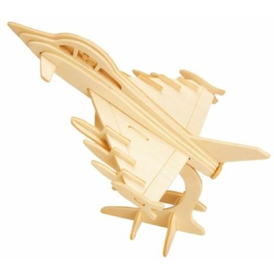 Gepetto's Workshop - Harci repülőgép- 3D fapuzzle, 473148