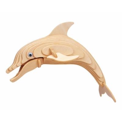 Gepetto's Workshop - Delfin - 3D fapuzzle, 473171