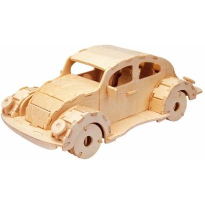 Gepetto's Workshop - Autó - 3D fapuzzle, 473173