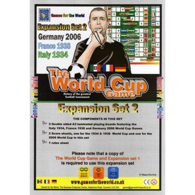 The World Cup Game - expansion set 2