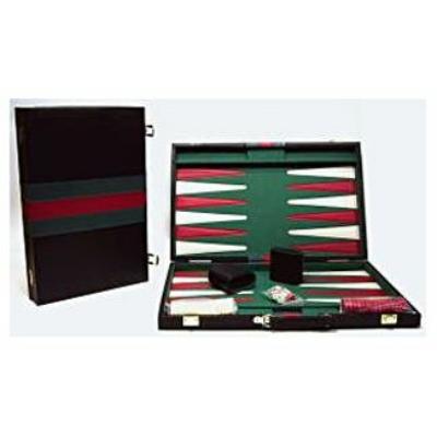 Backgammon, 46x30 cm-es műbőr koffer - 605503