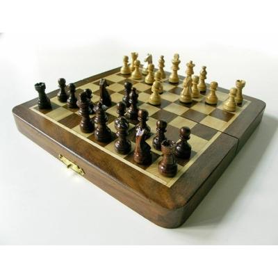 Fa sakk-készlet mágneses 17x9x4cm - 670940