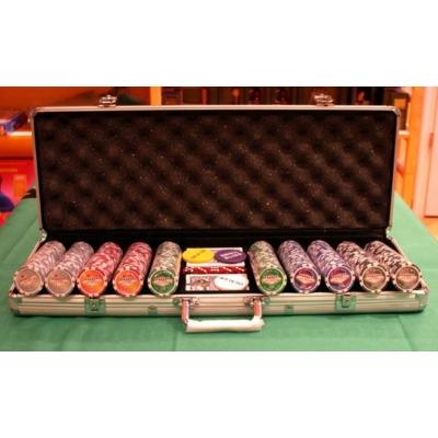 Póker zseton készlet, Las Vegas, 500db - 620950