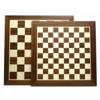 Sakk / dáma tábla, 54x54cm - 660253