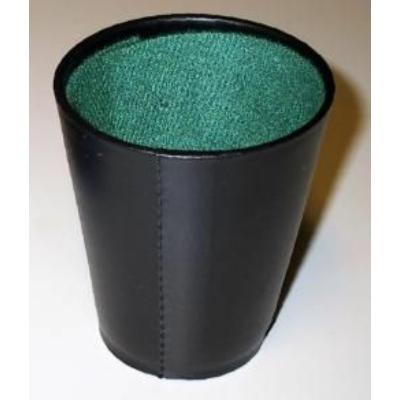 Kockavető pohár, fekete 730603