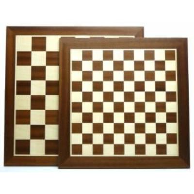 Sakk/dáma tábla, intarziás, 45-35mm, 44 cm 660251