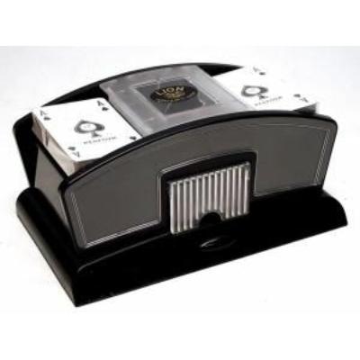 Elektromos kártyakeverőgép, műanyag - 750359