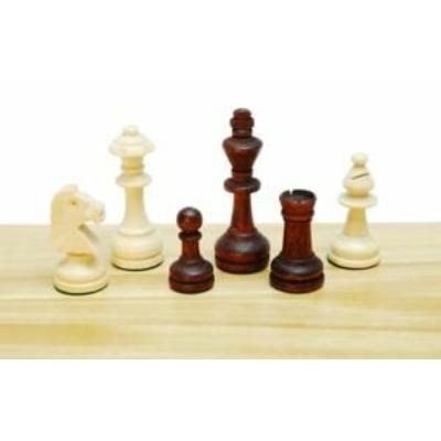 Sakkfigura készlet fából, Staunton 3-as, 652033
