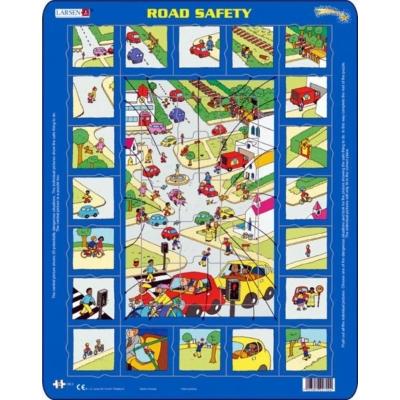 Larsen maxi puzzle 35 db-os Közlekedés OB2