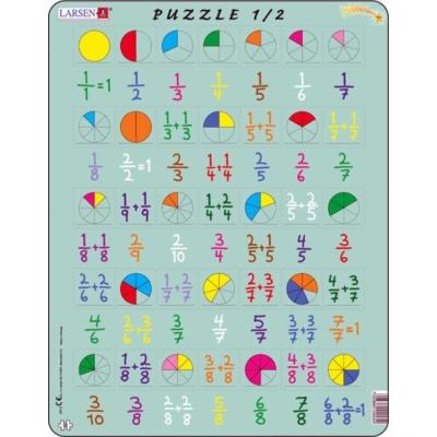 Larsen maxi puzzle 35 db-os Törtek AR5