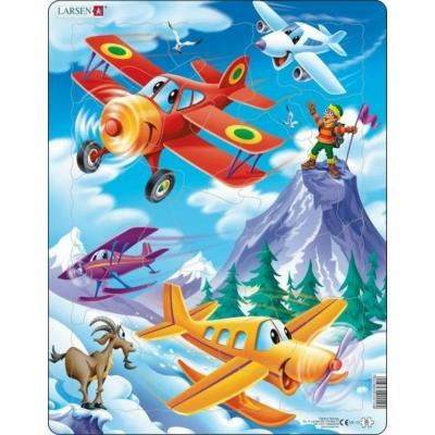 Larsen maxi puzzle 20 db-os Repülők - US12
