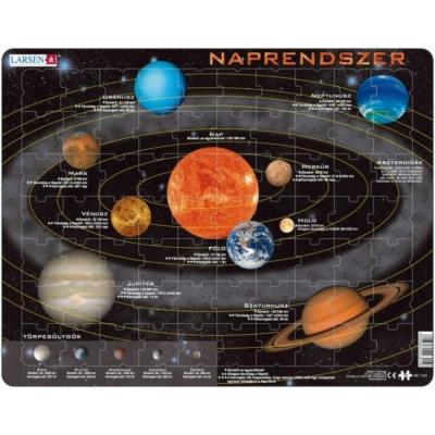 Larsen maxi puzzle 70 db-os Naprendszer (horvát nyelvű) SS1