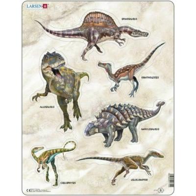 Larsen maxi puzzle 30 db-os Dinoszauruszok 1 X12