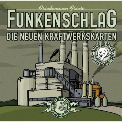 Funkenschlag (Power Grid) 3. kiegészítő: Új erőműkártyák