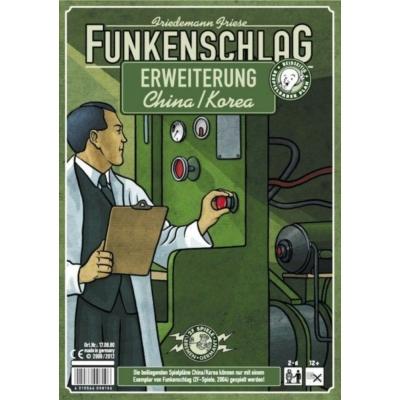 Funkenschlag (Power Grid) 4. kiegészítő: Kína/Korea