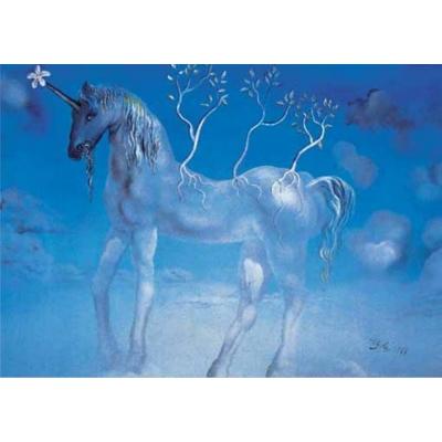 Puzzle 1000 - Dalí - L'unicorne allegre - Ricordi Arte