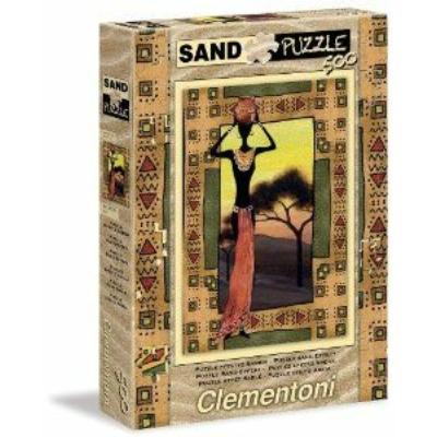Clementoni 500 db-os homok puzzle Afrika