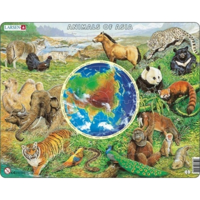 Ázsia állatvilága AW4 angol