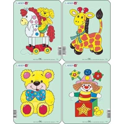 Larsen mini puzzle 5db-os Játékok Y5
