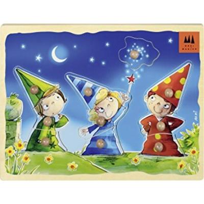 Die drei kleine Magier - A három kis varázsló fapuzzle