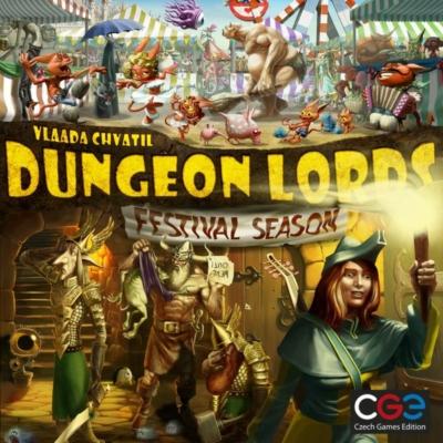 Dungeon Lords: Festival Season kiegészítő