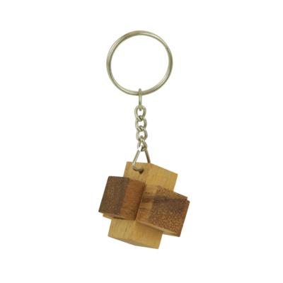 RG Mini Brick, fa ördöglakat kulcstartó