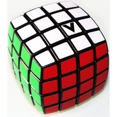 V-CUBE 4x4 versenykocka, fekete, lekerekített