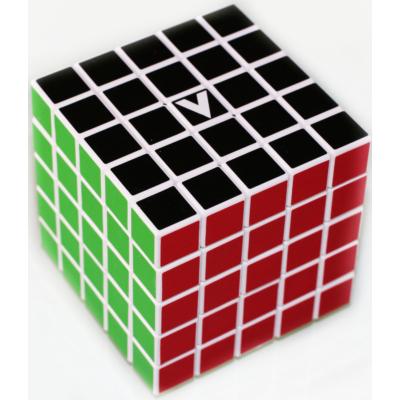 V-CUBE 5x5 versenykocka, fehér, egyenes