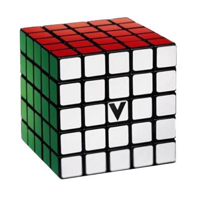 V-CUBE 5X5 versenykocka, fekete, egyenes