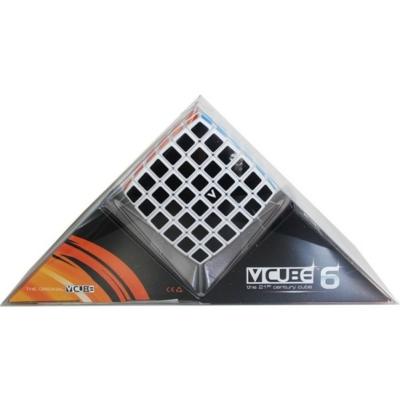 V-CUBE 6x6 versenykocka, fehér, lekerekített