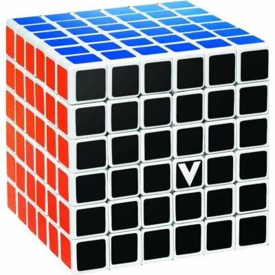 V-CUBE 6x6 versenykocka, fehér, egyenes