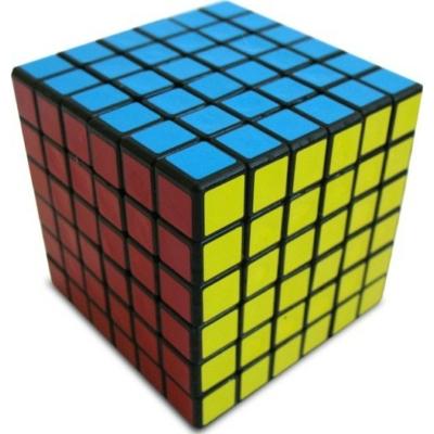 V-CUBE 6x6 versenykocka, fekete, egyenes