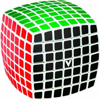 V-CUBE 7x7 versenykocka, fehér, lekerekített