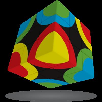 V-Cube 3x3 versenykocka, Körök