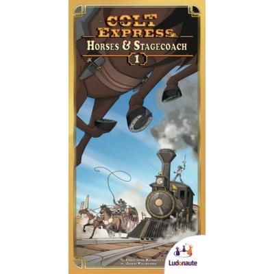 Colt Express: Horses and Stagecoach kiegészítő