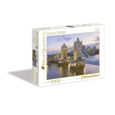 Clementoni 1000 db-os puzzle Tower Bridge 39022