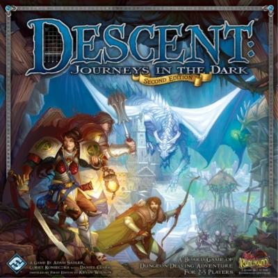 Descent: Journeys in the Dark 2nd edition alapjáték